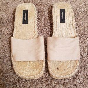 Express sandals!